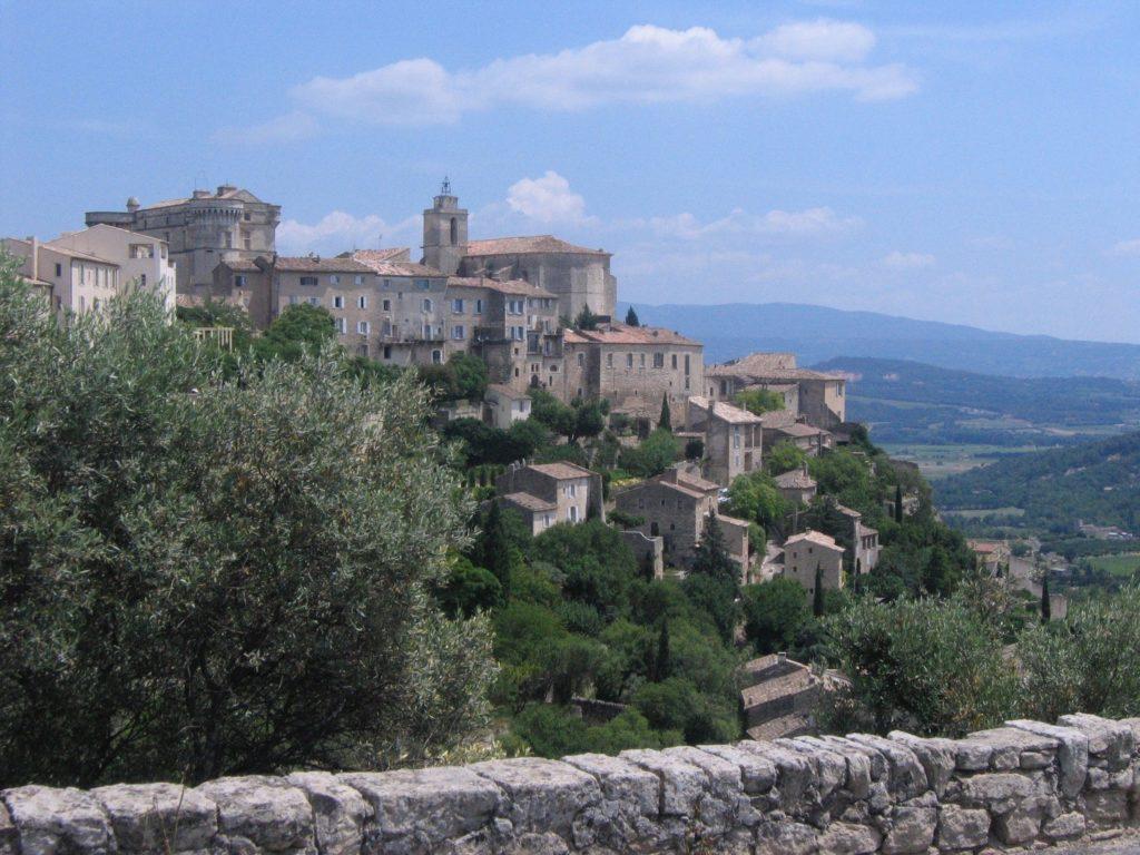 Ansicht von Gordes am Luberon