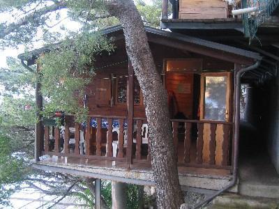 Bungalow auf dem Camping Moneglia