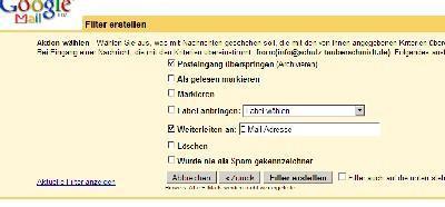 Google-Mail als Spamfilter