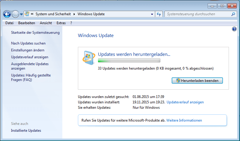 Die Windows-Update-Hölle