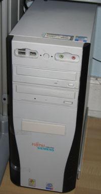 Der alte Fujitsu-Siemens