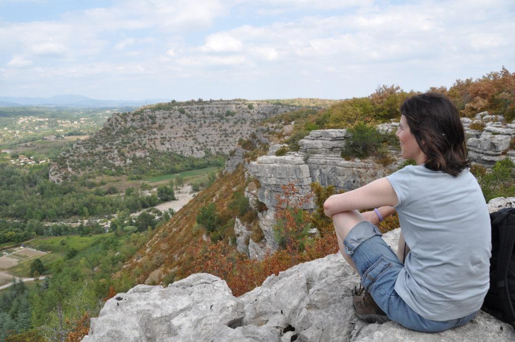 Blick ins Chassezac-Tal