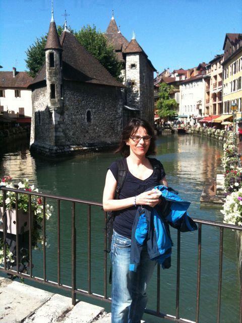 In der Altstadt von Annecy