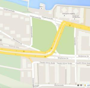Bildnachweis: Screenshot aus Google Maps