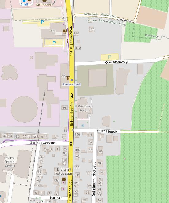 Abschnitt in Leimen, wo die Radverbindung entstehen soll
