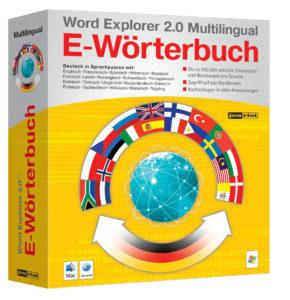 Word Explorer E-Wörterbuch Mulitlingual