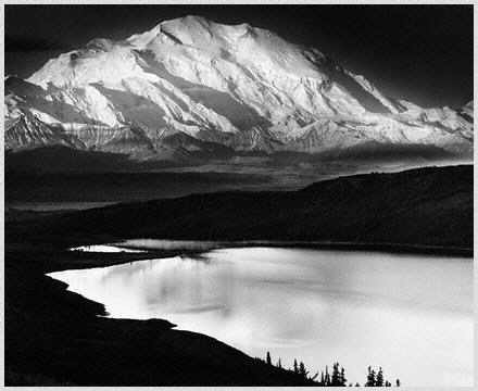 Ansel Adams - Wonder Lake